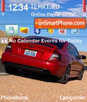 Subaru Desert es el tema de pantalla