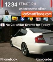 Subaru Ghosts es el tema de pantalla