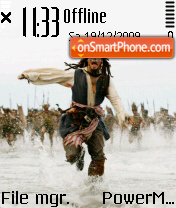 Jack Sparrow 08 es el tema de pantalla