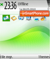 Clarity 01 tema screenshot