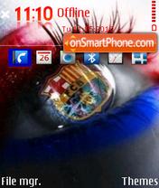 Fc Barcelona 15 es el tema de pantalla