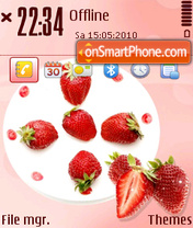 Strawberry 05 theme screenshot