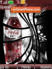 Capture d'écran Coke Zero thème