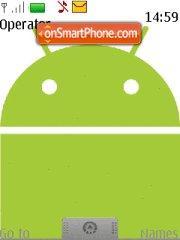 Android theme theme screenshot