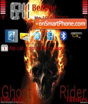 Ghostrider for n80 es el tema de pantalla