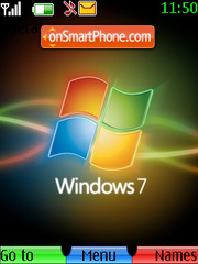 Windows Se7en theme screenshot