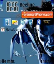 Marvel Wolverine es el tema de pantalla