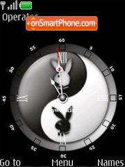 Playboy clock theme screenshot