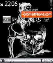Girl and Skull es el tema de pantalla