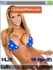Bikini Lady es el tema de pantalla