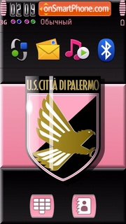 Palermo FC 01 theme screenshot
