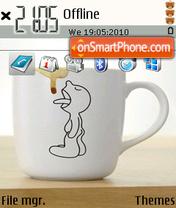 Funny cup theme screenshot