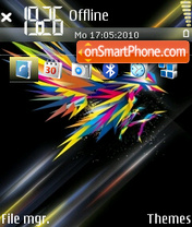 Freedom 06 tema screenshot