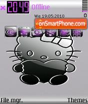Kitty CUT es el tema de pantalla