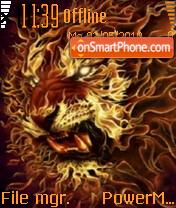Lion 11 es el tema de pantalla