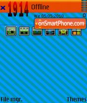 Blue tt es el tema de pantalla