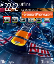 Red bull 04 es el tema de pantalla