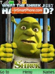 Shrek 4ever After theme screenshot