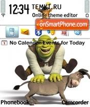 Shrek and Donkey es el tema de pantalla