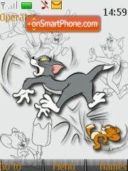 Tom And Jerry 14 theme screenshot