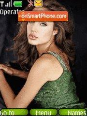 Angelina Jolie 14 theme screenshot