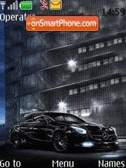 Mercedes with Tone theme screenshot