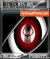 Eye Spy Modified theme screenshot