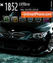 Bmw m5 11 es el tema de pantalla