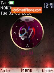 Minimalizzm Clock es el tema de pantalla