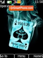 Poker Clock theme screenshot