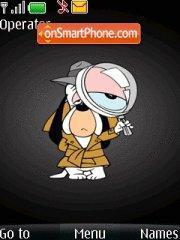 Goofy with ringtone tema screenshot