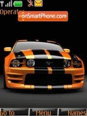 Orange Mustang 01 es el tema de pantalla
