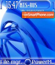 Blue vs3 es el tema de pantalla