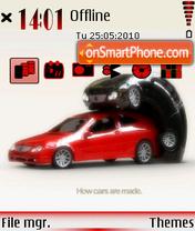 Cars making es el tema de pantalla
