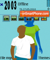 T shirt fp1 theme screenshot