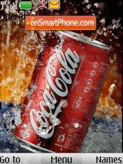Coca Cola animated es el tema de pantalla