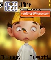 Cute Boy 01 es el tema de pantalla