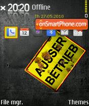 Rusty 01 theme screenshot