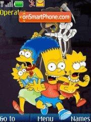 The Simpson 01 es el tema de pantalla