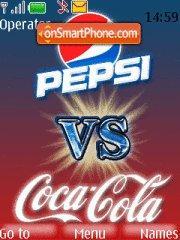 Pepsi Vs Coca Cola theme screenshot