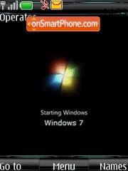 Windows Seven Original es el tema de pantalla