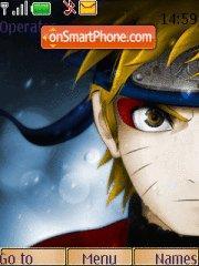Naruto Colour Kuubi theme screenshot