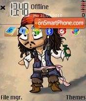 Jack Sparrow 09 theme screenshot