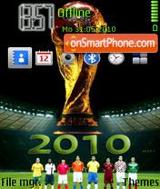 2010 World Cup es el tema de pantalla