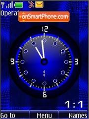 Azul analogo gif theme screenshot