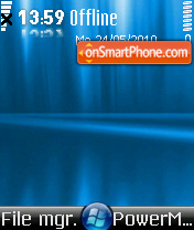 Vista Blue 04 theme screenshot