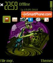 Monster 01 es el tema de pantalla