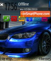 Blue bimmer 01 es el tema de pantalla