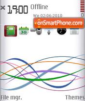 Vodafone Restyled (S60v3) es el tema de pantalla