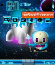 Space Invader es el tema de pantalla